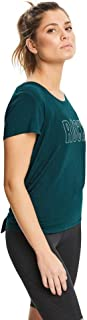 Rockwear Activewear Women's Evolve Split and Tie Back Tee Dark Teal 12 from Size 4-18 for T-Shirt Tops