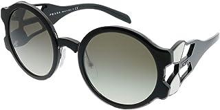 Prada Women's Round Sunglasses Grey 13US 1AB5O0 54