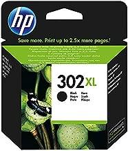 HP 302XL F6U68AE Cartuccia Originale per Stampanti a Getto di Inchiostro, Compatibile con DeskJet 1110; 2130 e 3630; HP OfficeJet 3830 e 4650; HP ENVY 4520, Nero