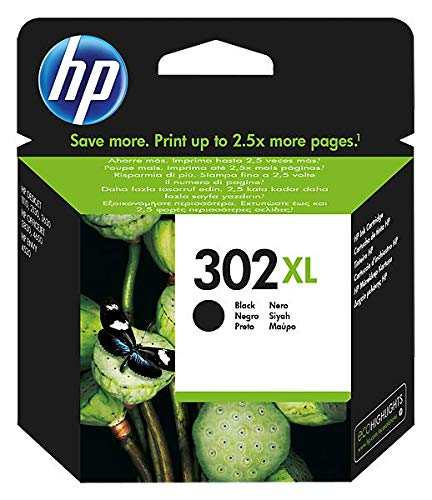 HP 302XL F6U68AE Cartuccia Originale per Stampanti a Getto di Inchiostro