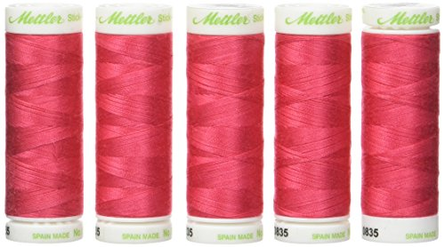 Sale!! Mettler 240-0835 N ° 60 Spool-Pack of 5-Pack of 5 for Sewing/Darning 200 m