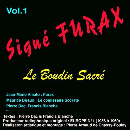 Couverture de Le boudin sacré (Signé Furax 1)