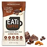 Eat Your Coffee Energy Snack Bar - Variety Pack (KETO ALMOND, 6 Count)