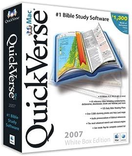 QuickVerse 2007 Mac White Box