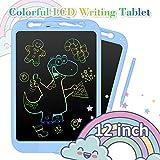 NEXGADGET 12 Pulgadas Tableta de Escritura LCD Tableta Gráfica Dibujo Digital sin Papel Pizarra de Mensaje Memo con Lápiz Electrónico para Niños, Adultos, Clase, Oficina, Casa, Cocina