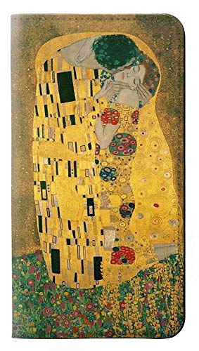 Innovedesire Gustav Klimt The Kiss Flip Case Cover Custodia per iPhone 5 5S SE