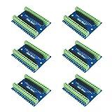 Aideepen - Adaptador de terminal de nano tornillo para placa de expansión Nano V3.0 AVR ATMEGA328P-AU para Arduino