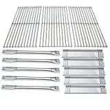 Direct Store Parts Kit DG183 Replacement for Jenn-Air 720-0709B, 720-0727 Gas Grill Stainless Steel Burners,Heat Plates,Cooking Grid