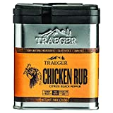 Great Tasting Cooking Seasoning: Featuring citrus and black pepper flavors Compatible Meat/Proteins: The perfect BBQ rub to complement your chicken creations Easy Storage: Rub comes in a stackable aluminum tin container Kosher, Gluten Free, and GMO F...