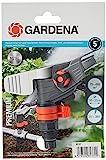 Gardena Premium Testina Irrigatore a Impulso Circolare a Settori, Irrigatore per Stativo o...