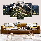 Leinwand malerei Wohnzimmer Dekoration Machu Picchu Peru