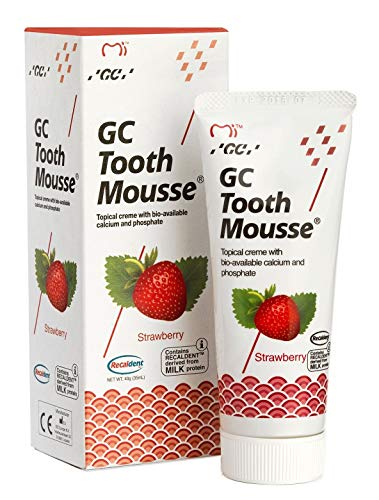 GC Tooth Mousse New Sugar Free With Fresh Fruits (Strawberry)