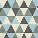 NOVELY® ORMONT MERING samtiger Chenille mit Dreieck Muster