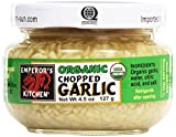 Emperor's Kitchen Condiments, Chopped Garlic, 4.5 oz