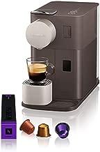 De'Longhi Nespresso Lattissima One, Capsule Coffee Machine, EN500BW, Brown/ White