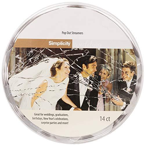 confetti streamers wedding - 1