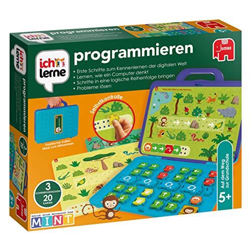 Jumbo Spiele JUM19722 ich lerne programmieren Lernspiel für Kinder, Ab 5 Jahren