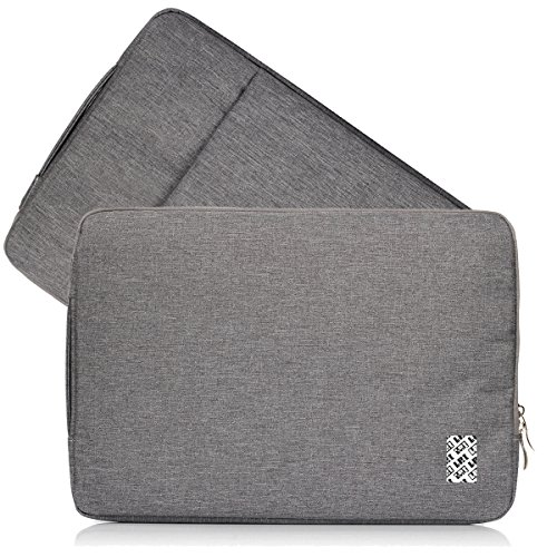 LefRight 13-13,3 Pouces Macbook Air/Macbook Pro/Retina Housse Etui Housse de Protection Portant Le Sac de Protection pour 13 Pouces Netbook ultrabook Gris