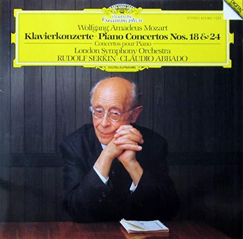 Mozart: Klavierkonzerte / Piano Concertos Nos. 18 & 24 [Vinyl LP] [Schallplatte]