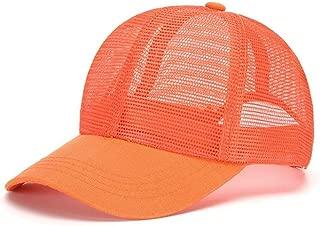 Unisex hat baseball caps Grid Breathable Spring And Summer Baseball Cap Sunscreen UV Adjustable Cap