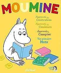 Livres pour les plus petits Coffret j'apprends avec Moumine