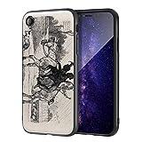Berkin Arts Edwin Henry Landseer para el Caso del iPhone XR/Estuche para teléfono móvil de Bellas Artes/Impresión Giclee UV en la Cubierta del teléfono móvil(Due Giovani camini spazza su Un Cavallo)