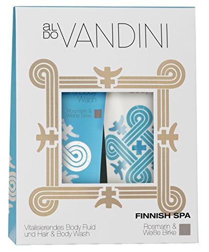 aldo VANDINI Duo Set Finnish Spa Rosmarin und weiße Birke, 1er Pack (1 x 1 Stück)
