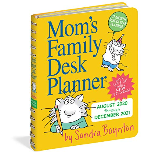 Product Image 1: Mom's Family Desk Planner 2021