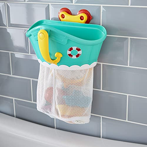 Tippi Bath Toy Storage Tidy & Kids Bath Toys Set - Suitable For Babies & Toddlers 1 Year Old +