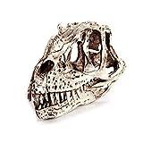 YO-HAPPY Rompecabezas, Ceratosaurus Dinosaurio Cráneo Resina Artesanía Esqueleto fósil Modelo de enseñanza Decoración de la Oficina en casa de Halloween