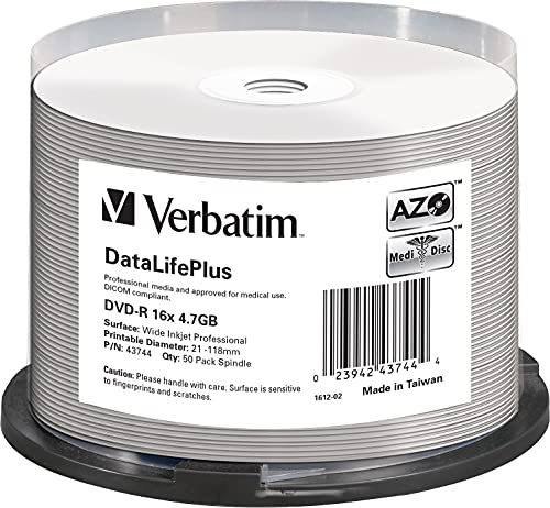 Verbatim DVD-R 16x Wide Inkjet Bild