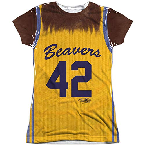 Teen Wolf 80s Beavers 42 Sublimation Costume T-shirt