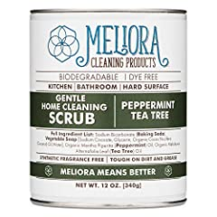 VERSATILE: Our Gentle Home Cleaning Scrub is your go-to cleansing scrub for your kitchen, bathroom, tile, stainless steel, and other hard surface cleaning in your home. Simple sprinkle on a wet, dirty surface and rub until clean before rinsing clean....
