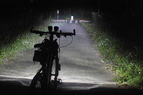 OSRAM LEDsBIKE FX-70, leistungsstarker Scheinwerfer für Radfahrer mit Tagfahrlicht-Funktion, wiederaufladbare LED-Frontleuchte, Beleuchtungsstärke 70 lx, LEDBL101, Faltschachtel (1 Stück) - 5