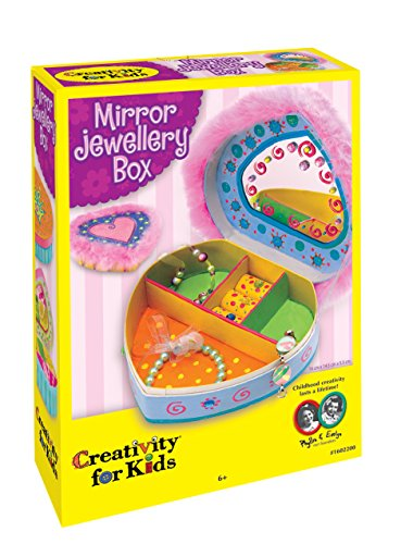 Creativity for Kids Mirror Jewellery Box