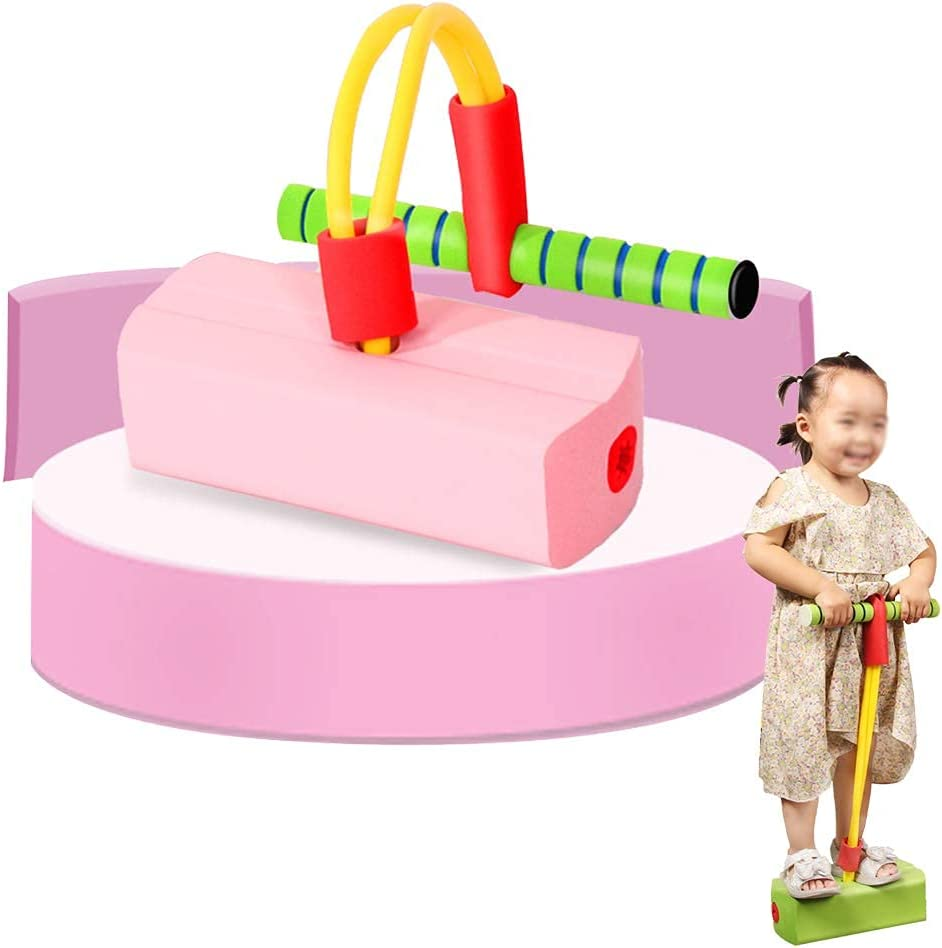 Pogo Stick OFFicial mail order Foam All items free shipping Bungee Jumper for Outdoor Kids Games