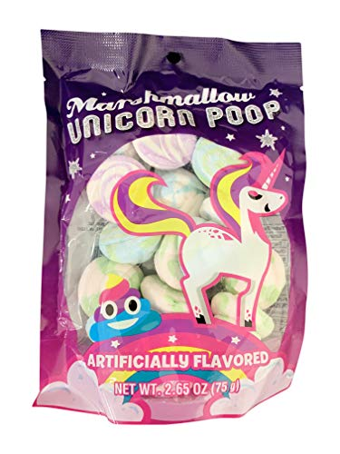 Unicorn Poop Marshmallow Candy