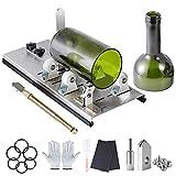 Glass Bottle Cutter, Bottle Cutter & Glass Cutter for Bottles Wine, Beer, Liquor, Whiskey, Alcohol, Champagne,Alcohol Round Bottles