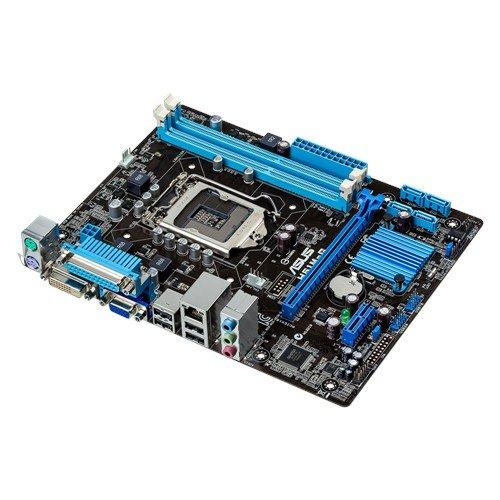 Asus H61M-G Mainboard Sockel 1155 (µATX, Intel H61, 2x DDR3 Speicher, 4x SATA 3Gb/s, 4x USB 2.0, PCIe 2.0)