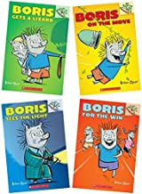 Boris Sees the Light, Boris for the Win, Boris Gets a Lizard and Boris on the Move - 4 Book Set by Andrew Joyner (2014-05-03)