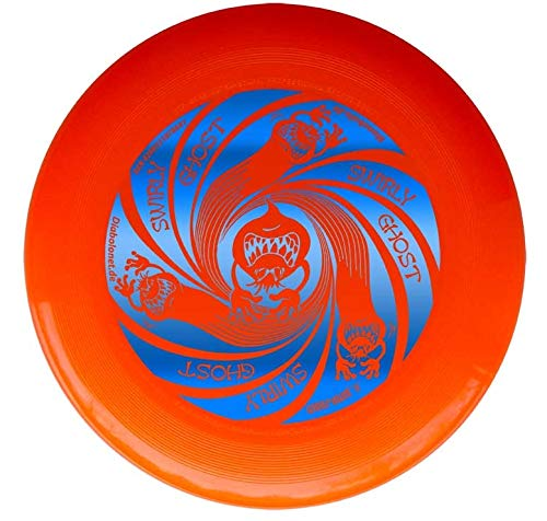 Discraft Ultrastar Orange Ultimate Frisbee Ultra Star - Swirly Ghost Blau 175g