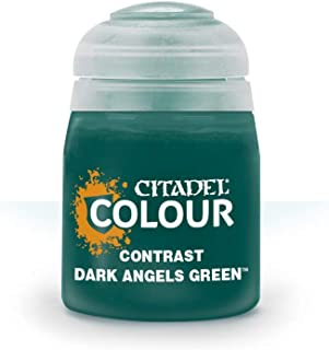 Games Workshop Citadel Colour: Contrast - Dark Angels Green