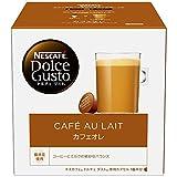 ネスカフェ NDG ドルチェグスト 専用カプセル カフェオレ 16杯分×1箱