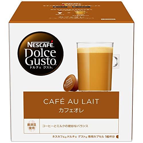 ネスカフェ ドルチェグスト 専用カプセル カフェオレ 16杯分
