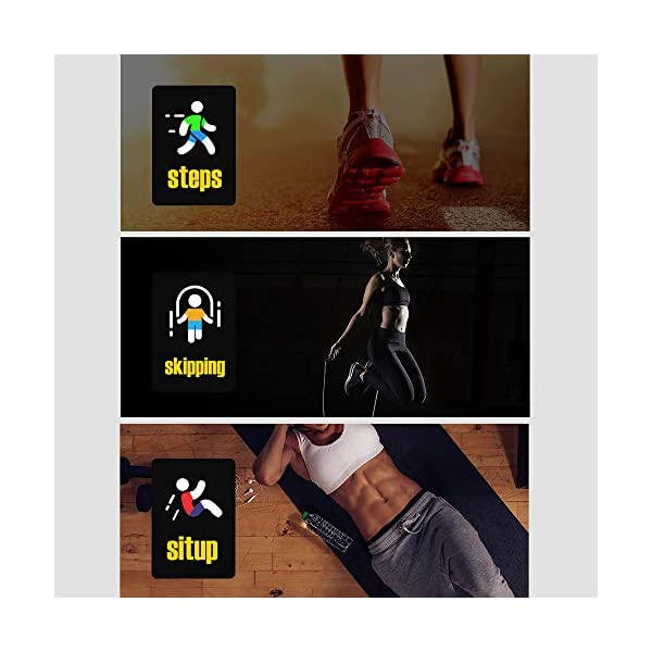 Edhua 116 Plus Pulsera Actividad, Smartwatch HD Touch Screen Fitness Tracker, Pulsera Inteligente, Sport Fitness Tracker… 8