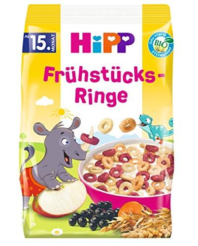 Hipp Bio-Müesli, Frühstücks-Ringe, 5er Pack (5 x 135 g)