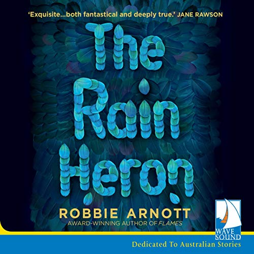 The Rain Heron audiobook cover art