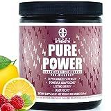 Pre Workout, Best All Natural PreWorkout Supplement. PURE POWER, Healthy Pump, Clean, Keto Vegan,...