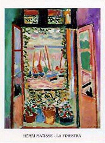 1art1 Henri Matisse - La Finestra, Das Fenster I Poster Kunstdruck 70 x 50 cm