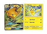 Pokemon Evolution Set - Raichu GX & Pikachu - SM213 Black Star Promo - Hidden Fates GX Card Lot